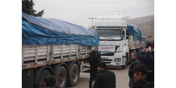 Öncü Yardım Konvoyu Suriye'de