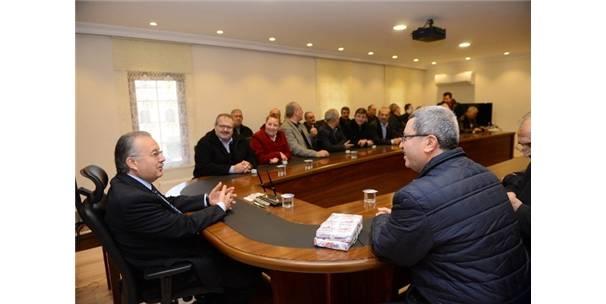 Afyon Belediye Meclisi Üyeleri Edirne'de