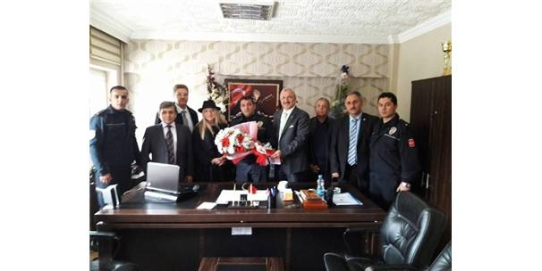 Mebider'den Çevik Polisine Taziye Ziyareti