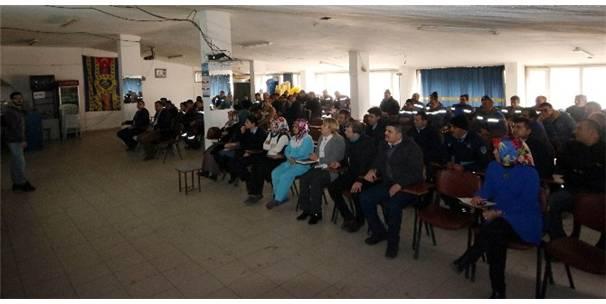 Beyşehir Belediyesi Bünyesinde Çalışan Taşeron Personele İş Güvenliği Eğitimi