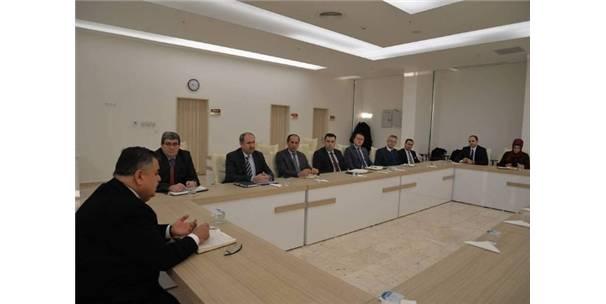 Başkan Yağcı Haftalık İstişare Toplantısını Yaptı