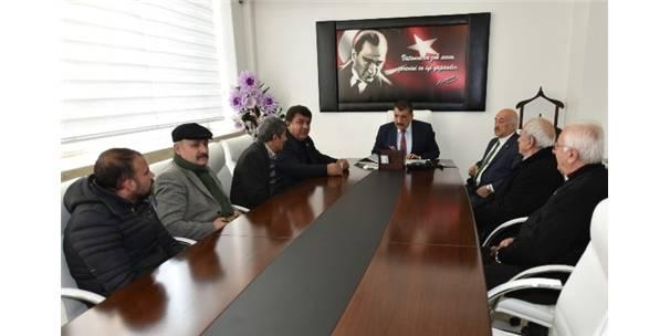 Mahalle Muhtarlarından Gürkan'a Ziyaret