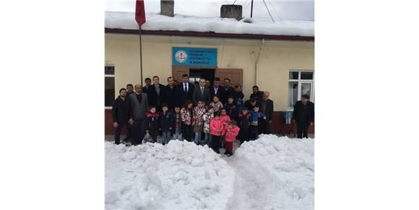 Kaymakamı Pişkin'den Ekincik Köyüne Ziyaret