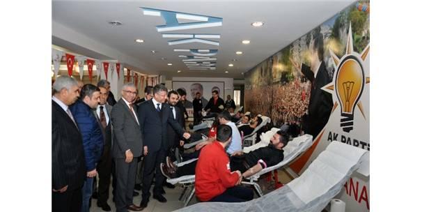 Adana Haberleri: AK Parti teşkilatından kan bağışı kampanyası 17