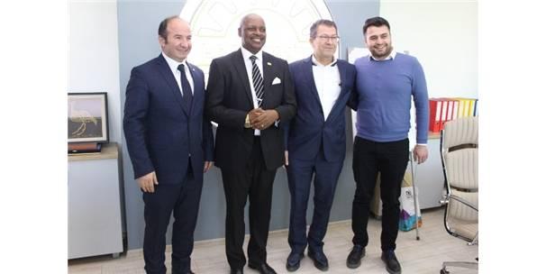 Ruanda Büyükelçisi Polatlı Ticaret Odasını Ziyaret Etti