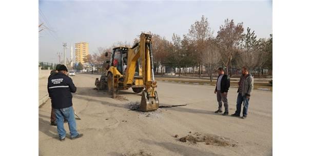 Karaman'da Larende Alt Geçit Projesinde İlk Kazma Vuruldu