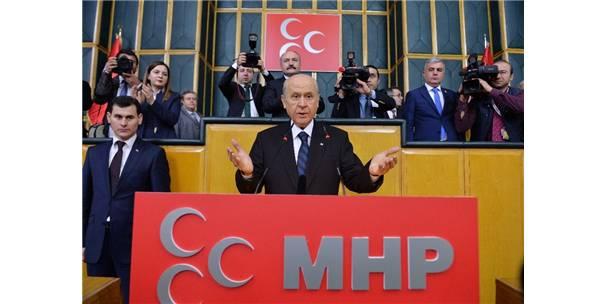"""Mhp Lideri Bahçeli'den """"Bayrak"""" Açıklaması"""