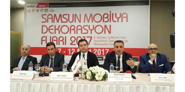 """2017'Nin En Yeni Tasarımları """"Samsun 2.Mobilya Dekorasyon Fuarı""""Nda"""