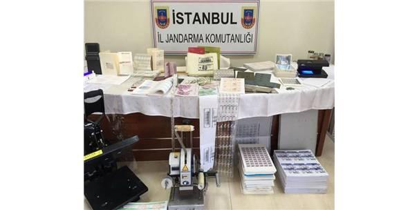 İstanbul Emniyeti'nden Sahtekarlara Büyük Darbe