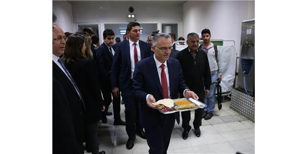 Maliye Bakanı Ağbal Gaziantep'te