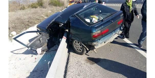 Çankırı'da Trafik Kazası: 2 Yaralı