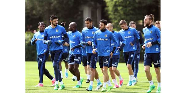 Fenerbahçe Taktik Çalıştı