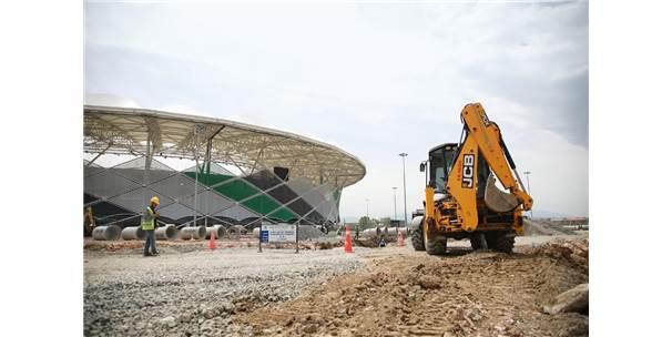Yeni Stadın Altyapısına Saski Güvencesi