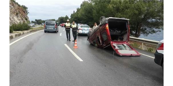 Bodrum'da Trafik Kazası 6 Yaralı