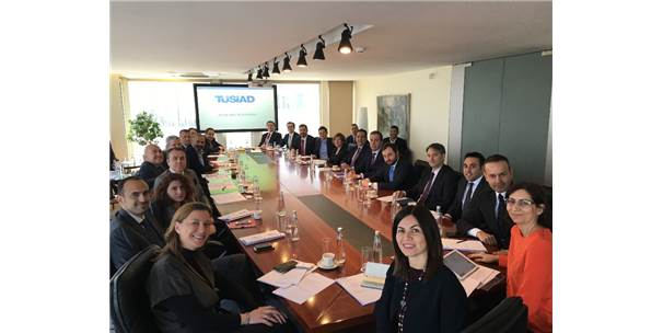Tüsiad 'Körfez Ülkeleri Network' İlk Toplantısını Gerçekleştirdi