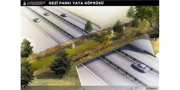 Taksim Gezi Parkı İle Maçka Demokrasi Parkı Arasına Ekolojik Yaya Köprüsü
