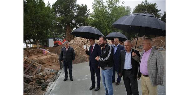 Başkan Türel, Cumhuriyet Meydanı Ve Şarampol Projelerini İnceledi