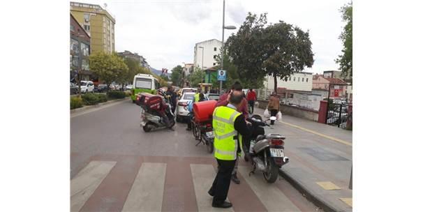 Gölcükte Polisinden Motosiklet Sürücülerine Uygulama