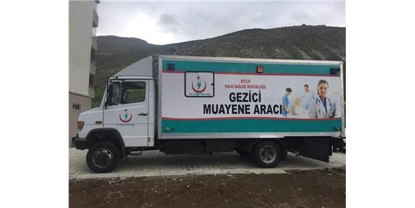Bitlis'te Gezici Araçla Kanser Taraması