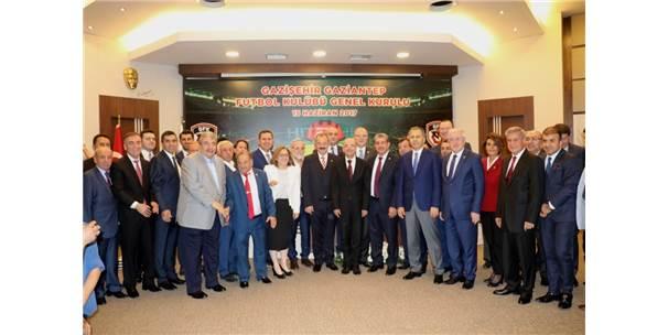 Gazişehir Gaziantep Futbol Kulübü'nün Yeni Başkanı Konukoğlu Oldu