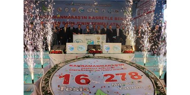 Kahramanmaraş'ta 278 Milyonluk 16 Tesisin Temeli Atıldı