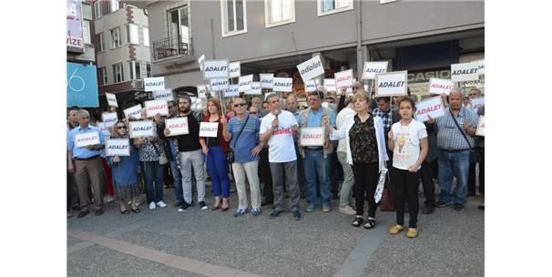 Chp'den 'Adalet İçin Duralım' Eylemi