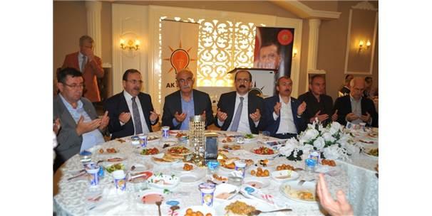 Ak Parti'den Bafra'da İftar