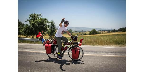 15 Temmuz Şehidi Halisdemir İçin Pedal Çeviriyor