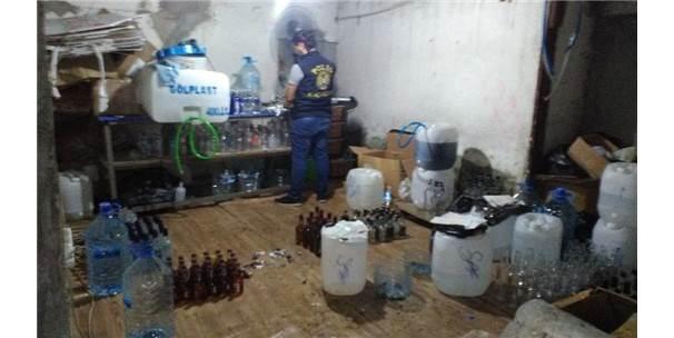 Bağcılar'da Sahte İçki Operasyonu