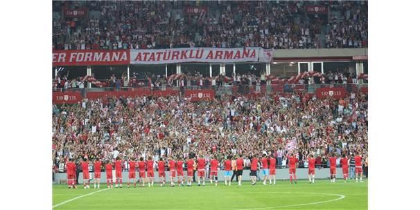 Samsunspor Yeni Stadına İlk Adımı Attı