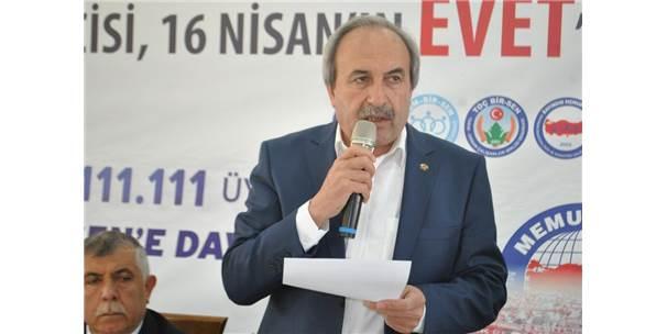 Memur-Sen Kayseri 1 No'lu Şue Başkanı Aydın Kalkan: