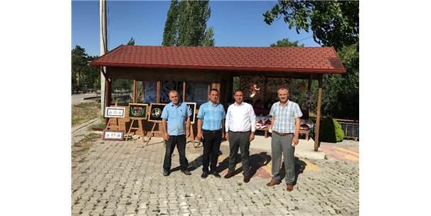 Boğazkale'ye Yöresel Ürünler Standı