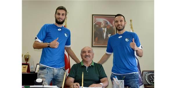 B.B.Erzurumspor, Haris Harba Ve Jasmin Trtovac İle Sözleşme İmzaladı
