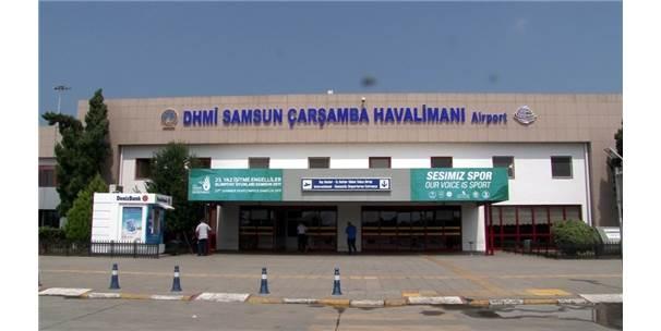 Pisti Çöken Samsun Havalimanı Bakıma Alındı