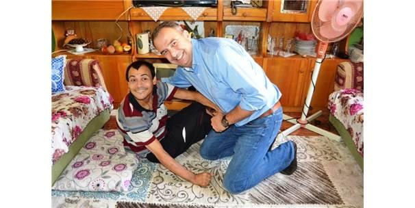 Engelli Mustafa'nın Rüyasını Başkan Gerçekleştirdi