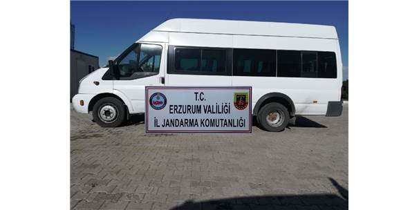 Erzurum'da Yabancı Uyruklu 18 Göçmen Yakalandı