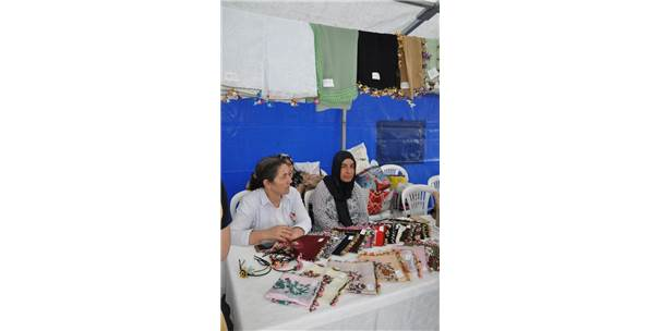 Çamlıyayla'da  3. İğne Oyası Festivali