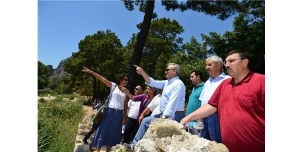 Vali Karaloğlu Turizm Alanlarını İnceledi
