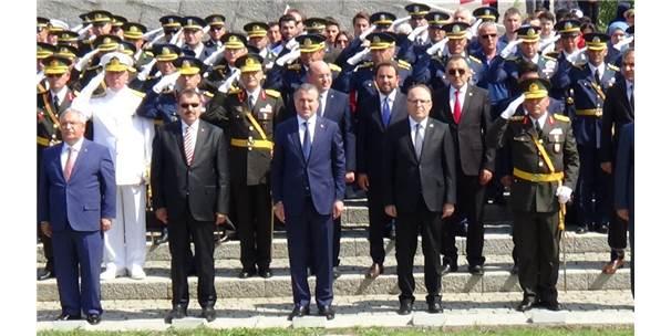 Kütahya'daki 30 Ağustos Zafer Bayramı Törenlerine Bakanlar Eroğlu Ve Bak'ta Katıldı