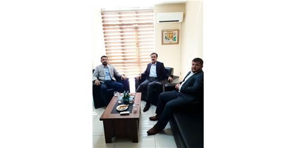 Selçuk Öztürk'ten Tümsiad Konya Şubesine Ziyaret