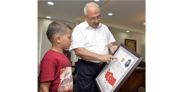 Yörük Çocuğu Deniz Başkan Kocamaz İle Bir Araya Geldi