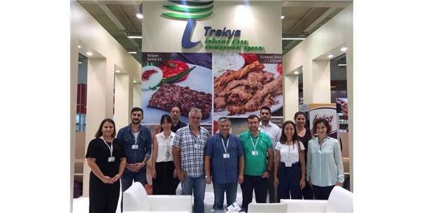 Trakyalı Firmalar Worldfood İstanbul'da Ürünlerini Tanıttı