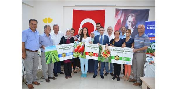 Akseki'de Kadın Çiftçiler Yarıştı
