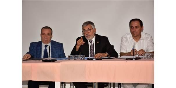 Belediye Başkanı Bozkurt Muhtarlarla Bir Araya Geldi