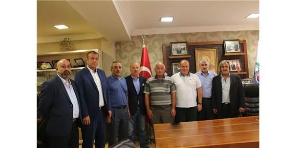 Eskipazar Dernekler Birliği'nden Tso Başkanı Özcan'ı Ziyaret Etti.