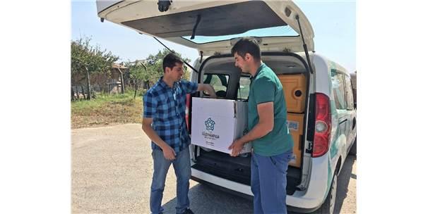 Süleymanpaşa Belediyesi Ürünlerini Teslim Eden Çiftçileri Yalnız Bırakmadı