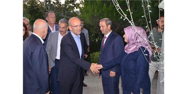 Başbakan Yardımcısı Şimşek, Nişan Törenine Katıldı