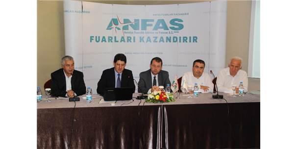 "Anfaş'tan İzmir'de ""Fuar"" Zirvesi"