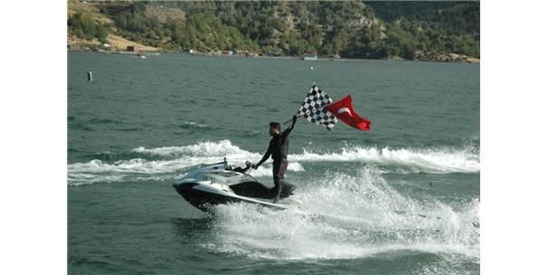 Kahramanmaraş'ta Türkiye Su Jeti Ve Flyboard Şampiyonası
