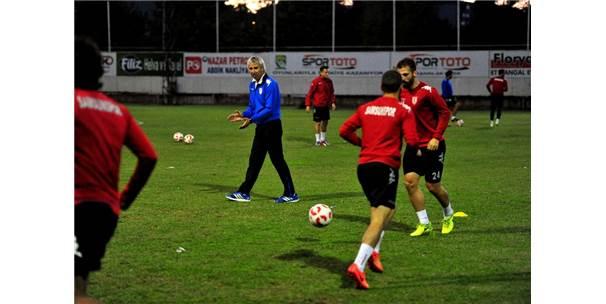 Samsunspor, Ç.Rizespor Maçı Hazırlıklarına Başladı